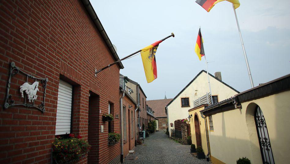 Dorf im Rheinland: Kritiker werfen den Deutschen vor, mit dem Erreichten zufrieden zu sein, statt in die Zukunft zu investieren