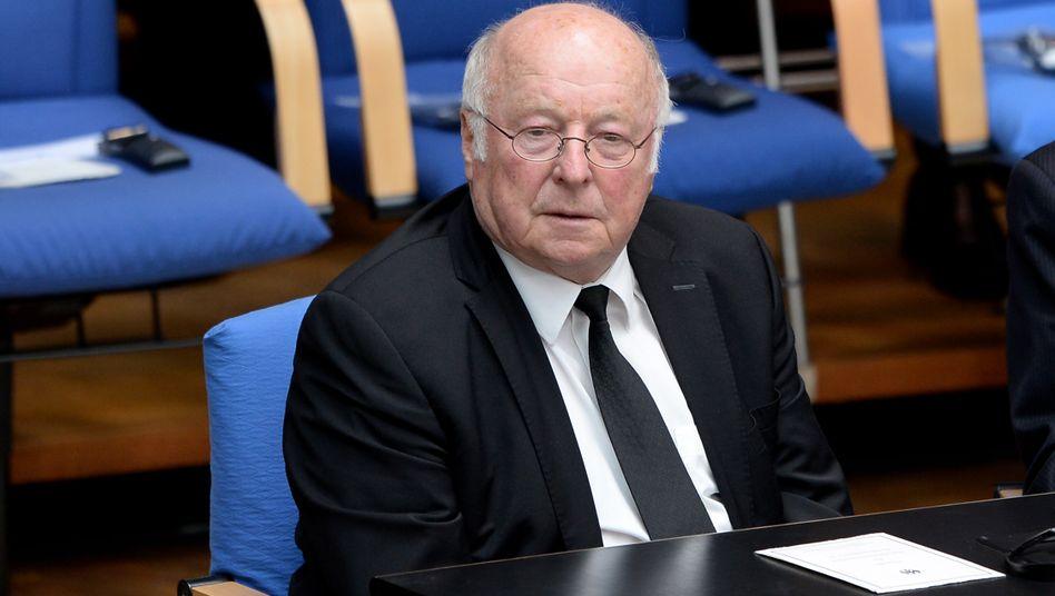 """Norbert Blüm: Sein Satz """"Die Rente ist sicher"""" ging in die Geschichte ein"""