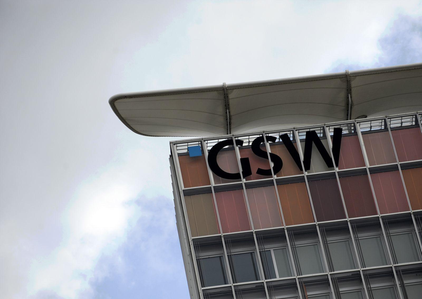 NICHT VERWENDEN GSW Zentrale in Berlin