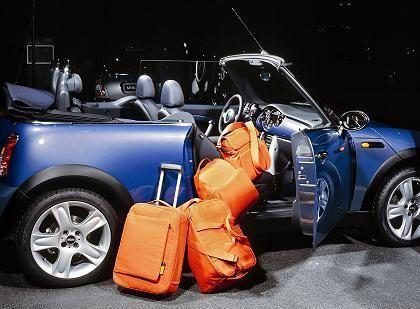Gepäckset für den Mini: Maßgeschneidertes zur optimalen Laderaumausnutzung