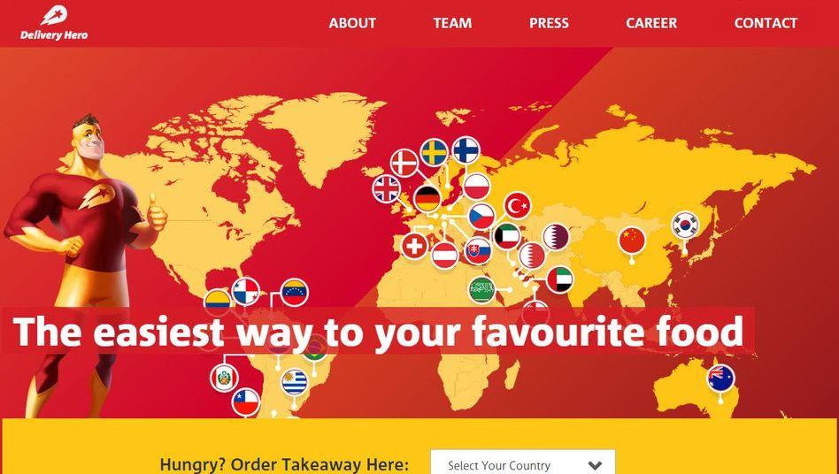 """Delivery Hero: """"Lieferheld"""" heißt in Deutschland die Rocket-Beteiligung an dem Essenslieferanten. Über Delivery Hero hat Rocket seine Position auf dem türkischen Markt ausgebaut."""