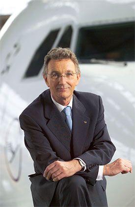 Glänzende Ergebnisse: Chef Mayrhuber trimmt die Lufthansa auf Wachstum
