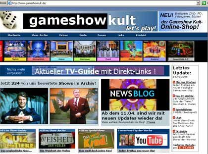 Unterhaltung nonstop: Gameshowkult zeigt, wo das Fernsehen verspielt