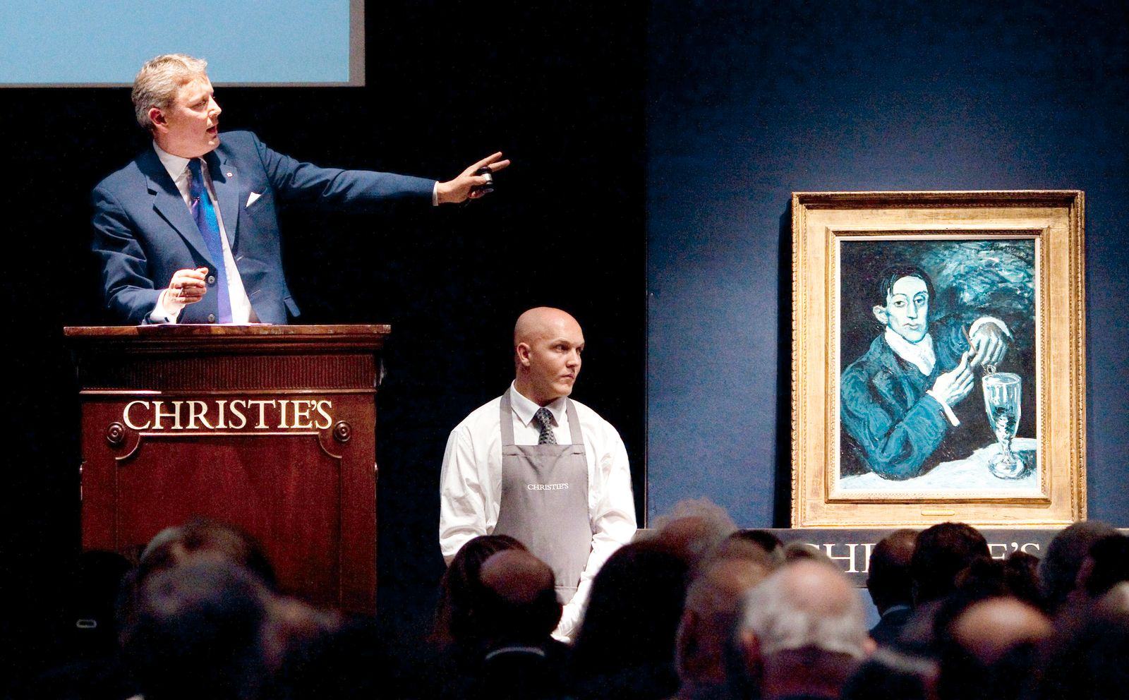 Portrait Angel Fernandez de Soto / Picasso / Der Absinthtrinker