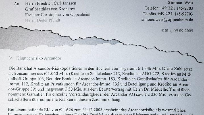 Sal. Oppenheim: Neue Dokumente im Bankenskandal