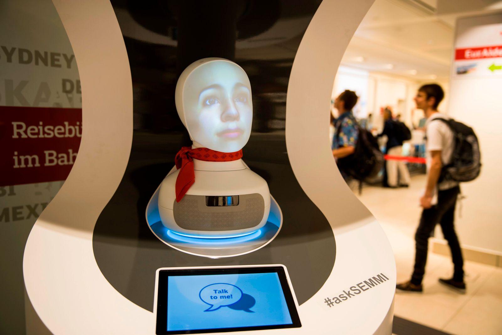 Semmi Roboter / Deutsche Bahn
