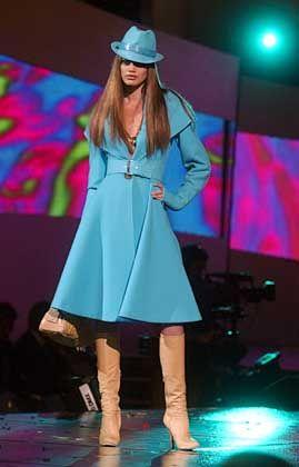 Cooler City-Wear: Entwurf von Donatella Versace