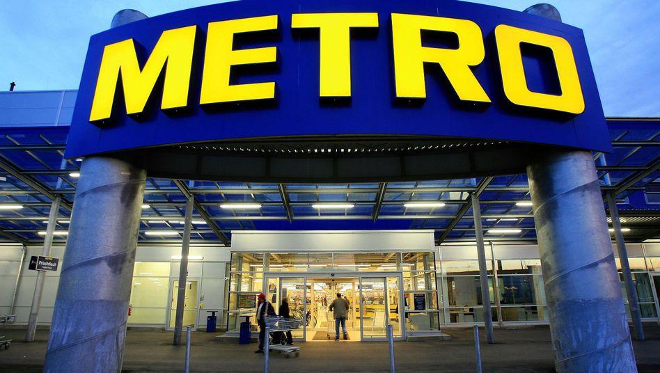 Metro-Markt in Berlin: Der Umsatz wird 2011 unter dem des Vorjahres liegen