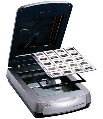 Kommt auch mit bewegten Bildern zurecht: Der Perfection 4990 Photo von Epson kann auch 35-Millimeter-Filmvorlagen einscannen