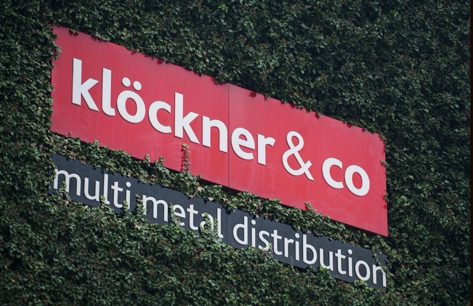 NICHT VERWENDEN Klöckner & Co