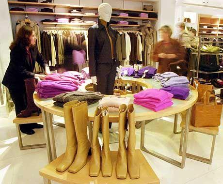 Konkurrent aus dem Ausland: Spanischer Filialist Zara, hier Geschäft in Madrid