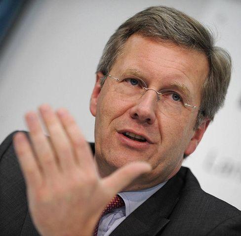Kritisiert öffentlichen Druck durch Schaeffler: Niedersachsens Ministerpräsident Wulff