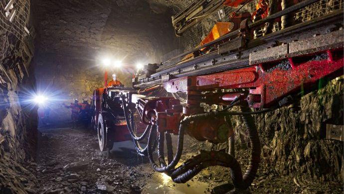 Arbeiter von Barrick Gold am Werk: Goldminen erleben an der Börse einen Höhenflug