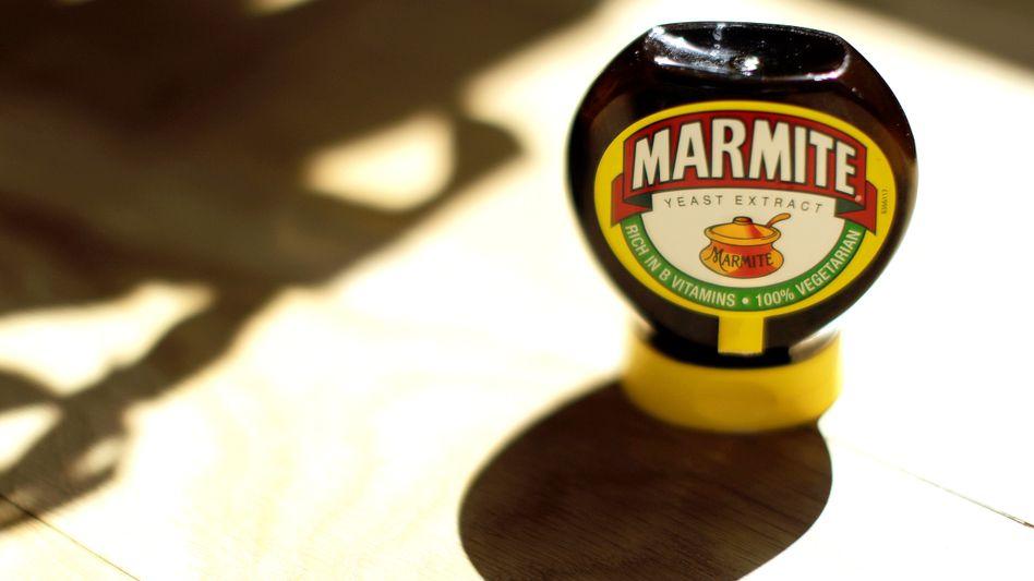 Urbritisch: Marmite kommt aus dem Werk in Burton-upon-Trent - muss aber harte Euro erwirtschaften