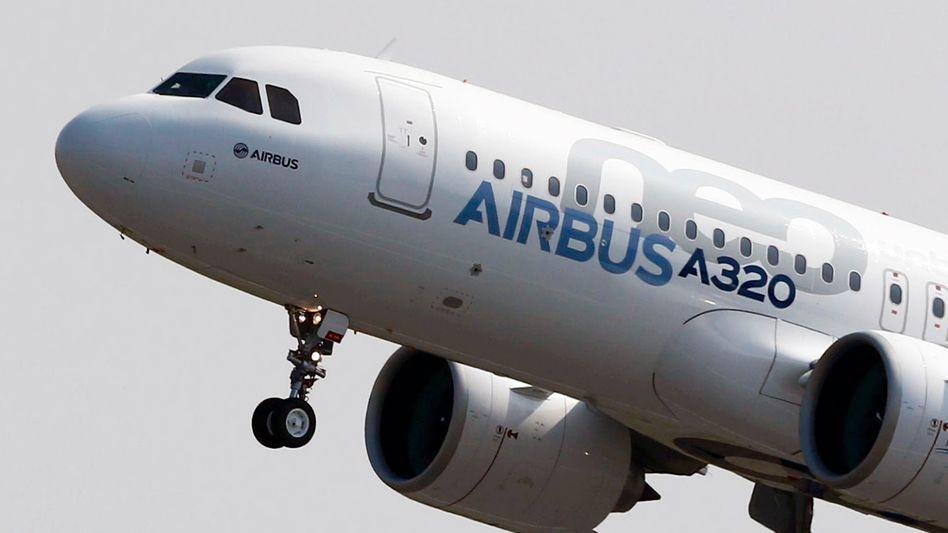 A320neo von Airbus: Immerhin ein Jet dieser Baureihe wurde im August bestellt