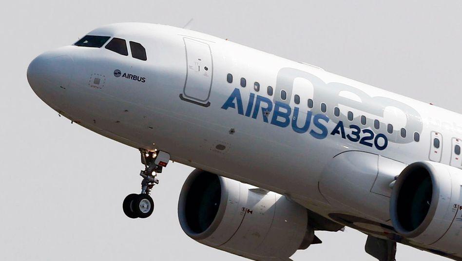 Airbus: Der Konzern will die Produktion der A320-Jets von derzeit 40 auf 47 pro Monat hochfahren