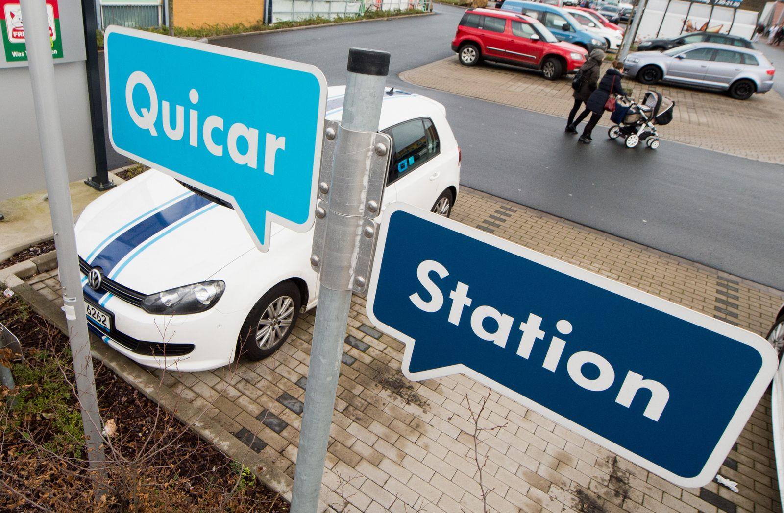 Carsharing-Projekt / Quicar