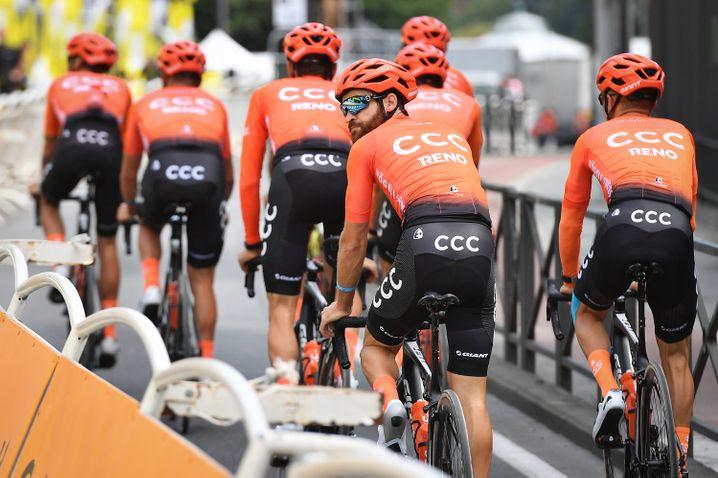 Coronavirus macht Radsport zu schaffen. CCC-Rennstall in Schieflage