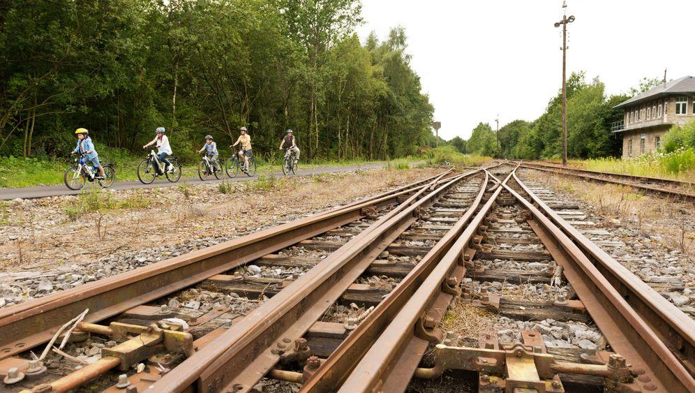 Radeln auf der Vennbahn: Die Spur von Kohle und Stahl