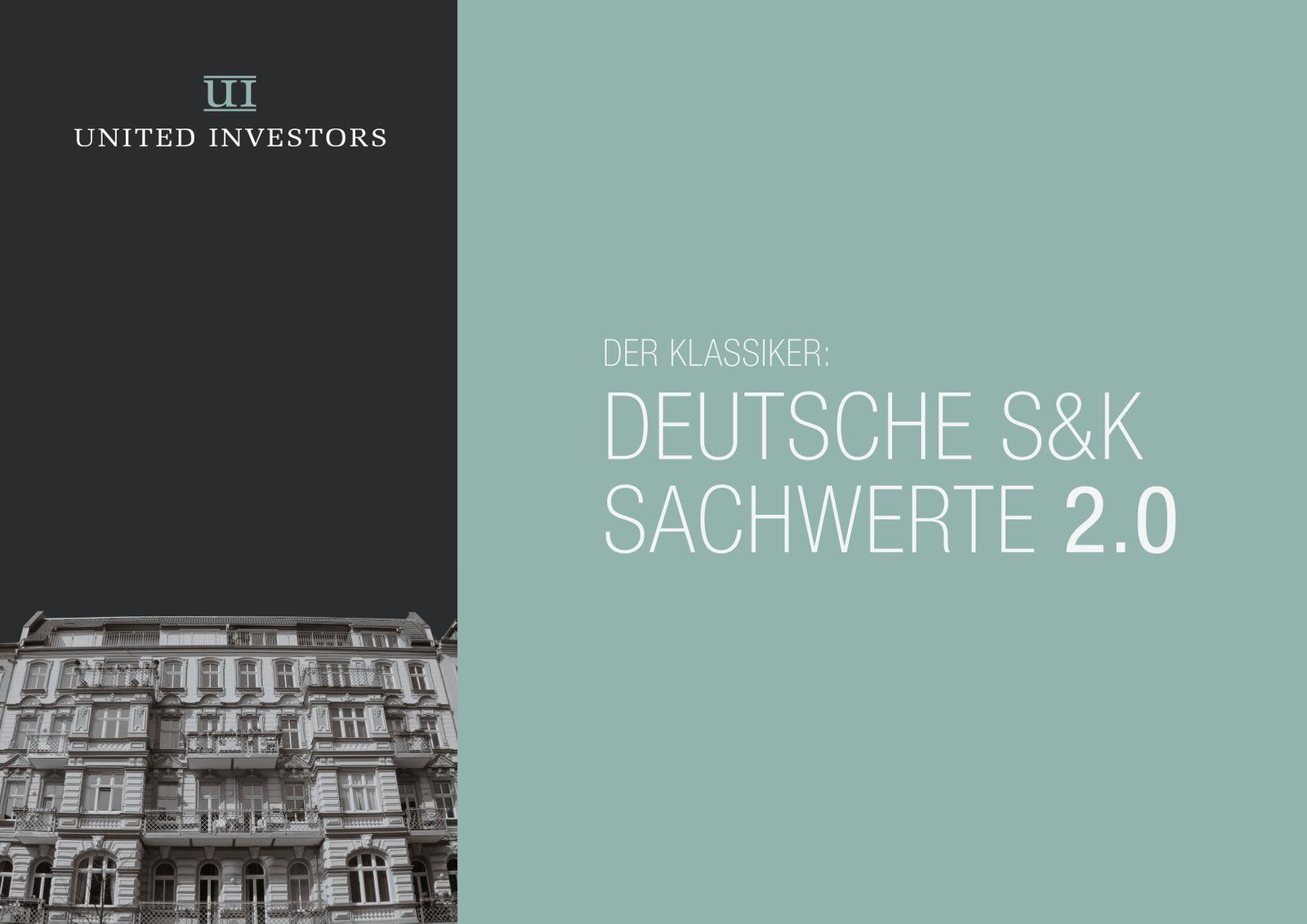 EINMALIGE VERWENDUNG AUSRISS S&K Präsentation