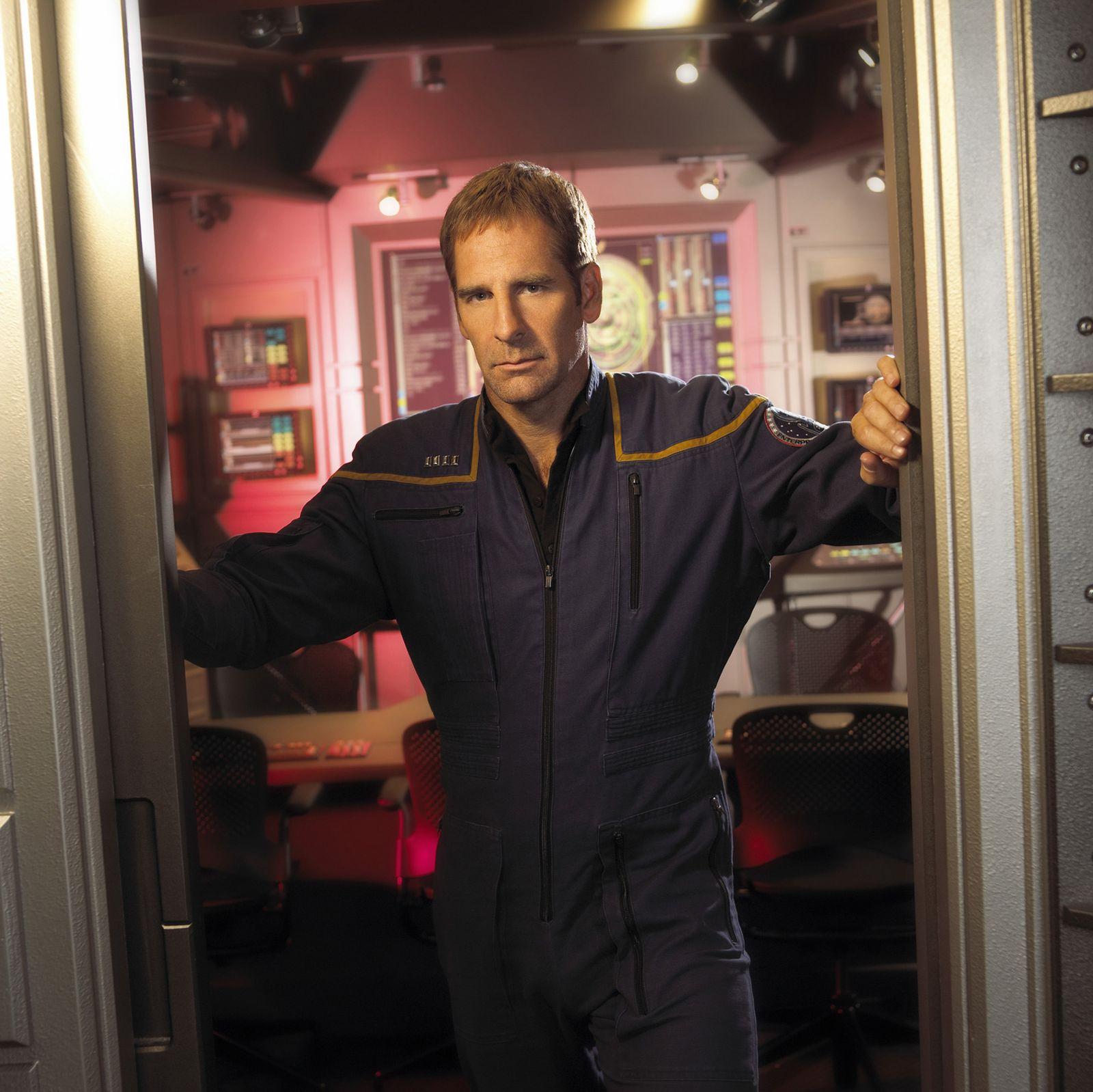 EINMALIGE VERWENDUNG Star Trek / Captain Jonathan Archer (Scott Bakula)