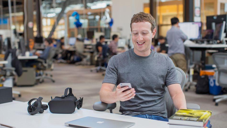 Mark Zuckerberg: Zukauf von FacioMetrics