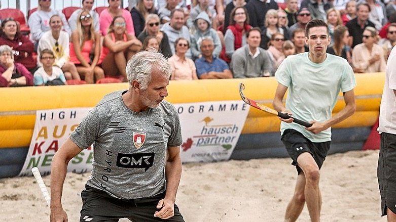 Michael Trautmann (54) in Aktion
