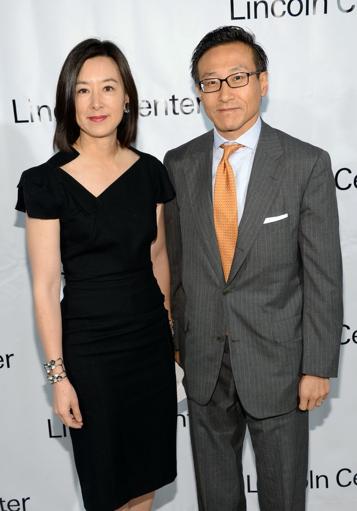 Profiteure des Alibaba-IPOs: Mitgründer Joseph Tsai und Gattin Clara Wu Tsai