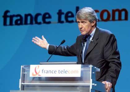 Michel Bon der France Telecom-Chef tritt nicht ab