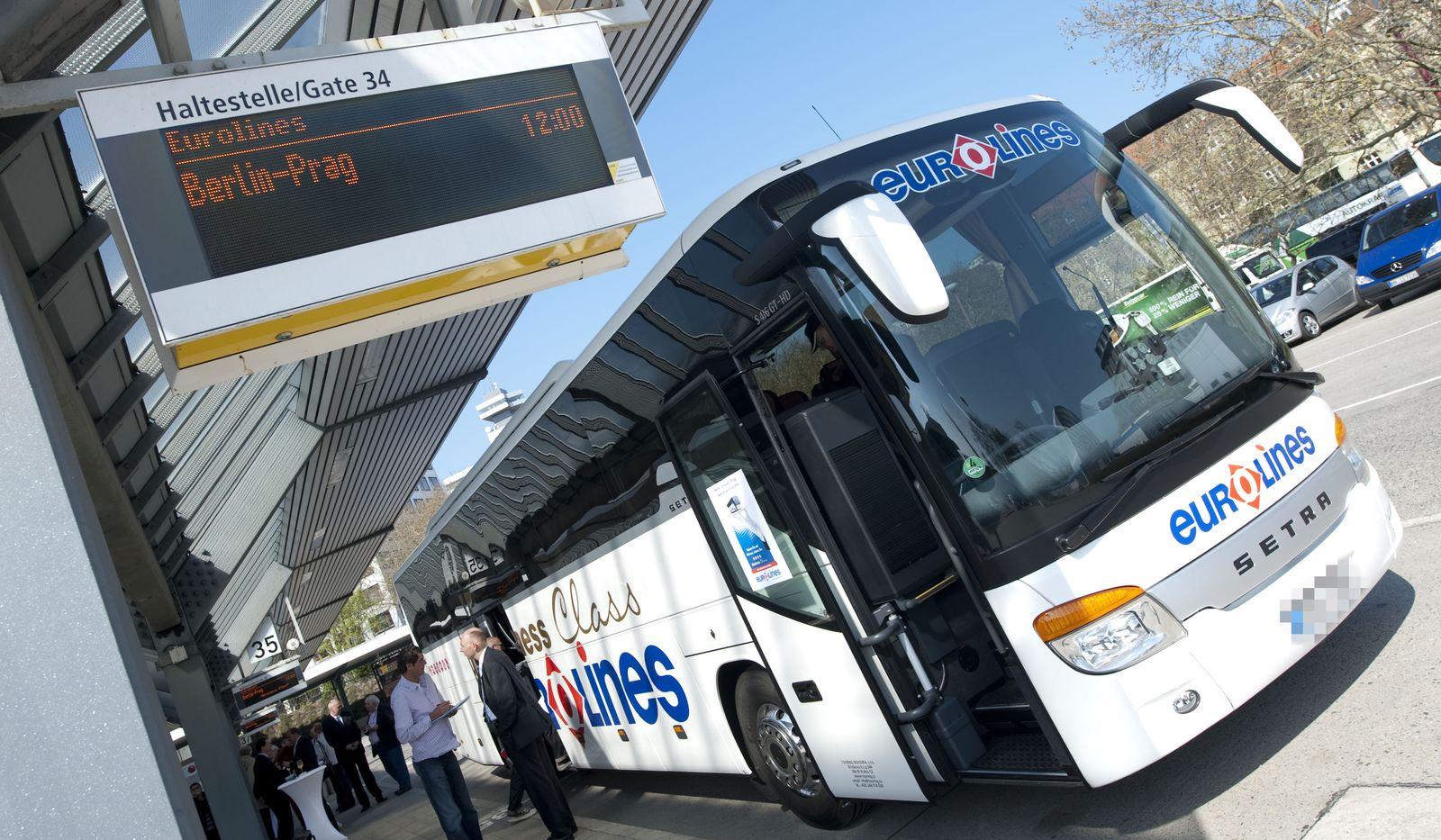 Linienbus von Deutsche Touring Eurolines