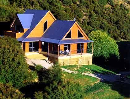 Insel Forsyth, Neuseeland, Größe: 7 Millionen Quadratmeter, Preis für mietbare Lodge: 650 US-Dollar/Tag.