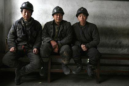 Bergarbeiter in Jincheng: Landarbeiter verrichten die gefährlichsten Arbeiten