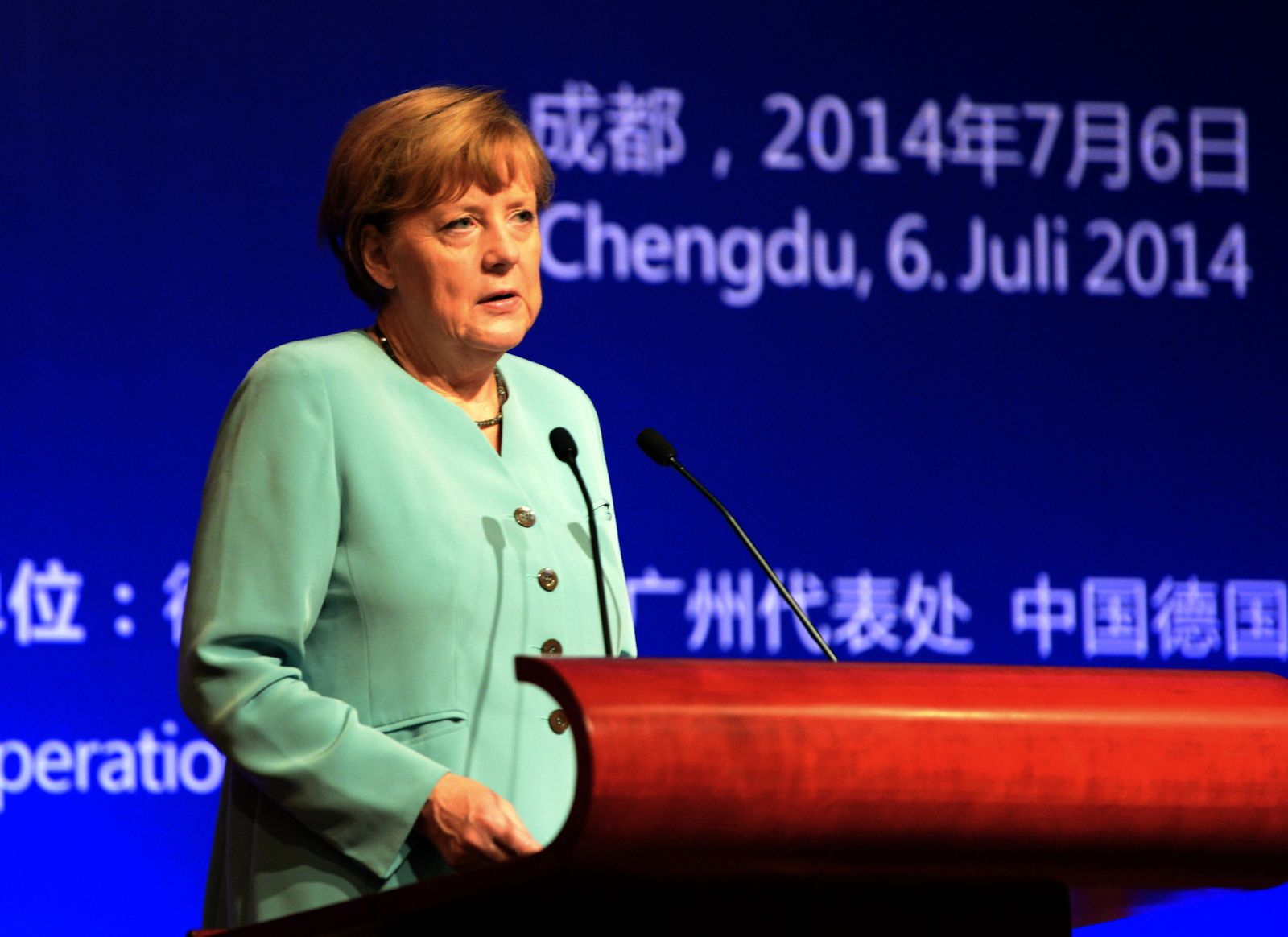 Merkel / China