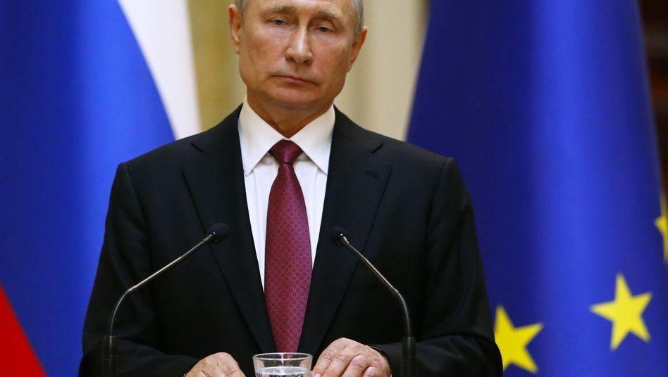 Kreml-Chef Wladimir Putin: Russland wurde wegen seiner Ukraine-Politik aus der Gruppe der führenden Wirtschaftsnationen ausgeschlossen