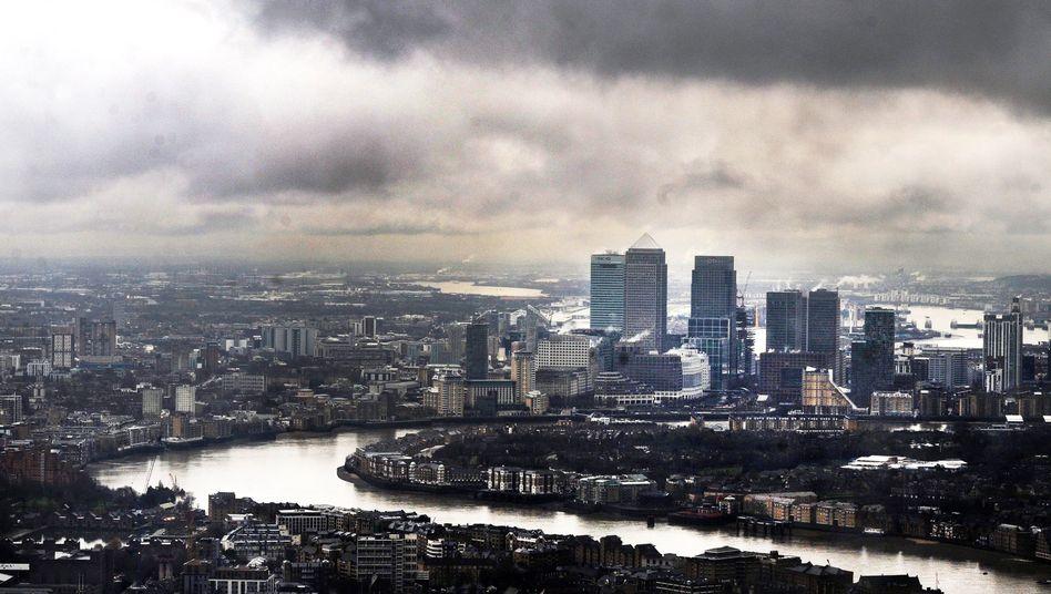 Nebel über London: Auch die Zukunft des Immobilienmarkts ist eher wolkenverhangen