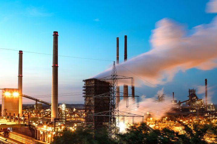 Stahlwerk Schwelgern in Duisburg