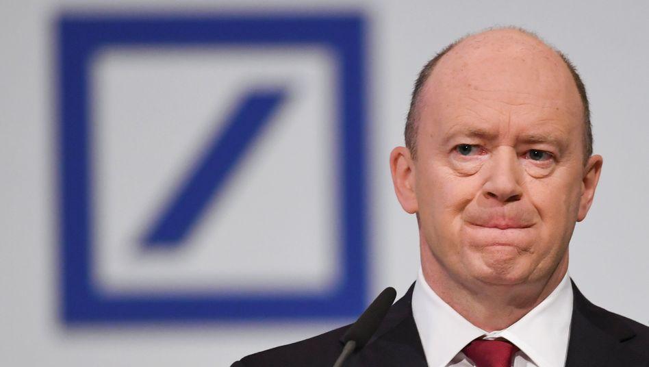 Denkt nicht ans Aufhören: Deutsche-bank-Chef John Cryan