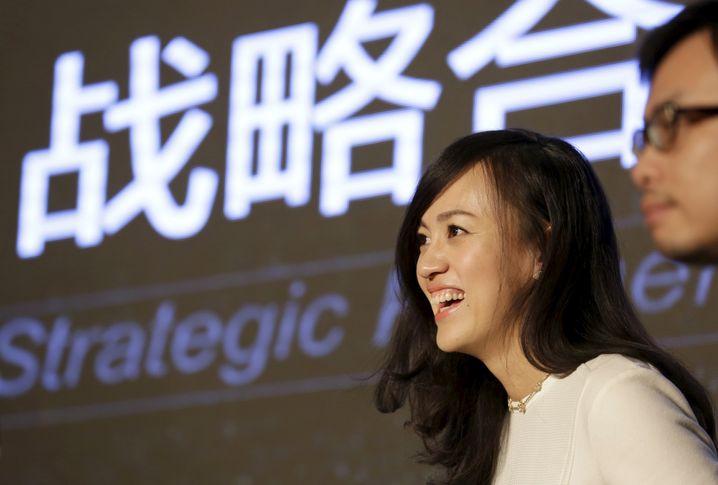 Jean Liu: Die Chefin des Mitfahrdienstes Didi Chuxing ist eine der mächtigsten Geschäftsfrauen in China. Ihre Cousine Liu Zhen (Uber China) ist zugleich ihre schärfste Rivalin