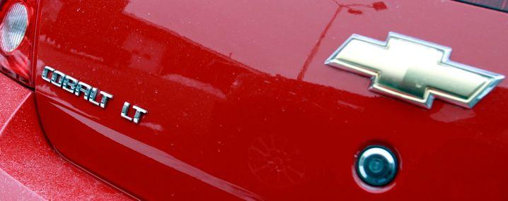 Eines der von dem Rückruf betroffenen Fahrzeuge ist der in Europa nicht erhältliche Chevrolet Cobalt