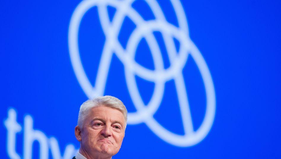 Heinrich Hiesinger: Kann und wird der Aufsichtsrat den Thyssenkrupp-Chef noch umstimmen?