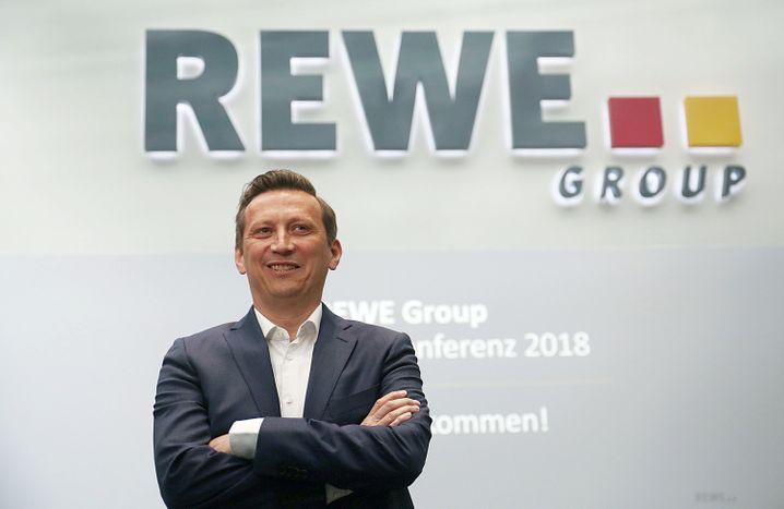 Lionel Souque: Der neue Rewe-Vorstandschef präsentierte erstmals die Jahreszahlen