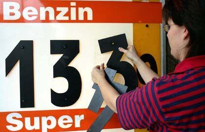 Immer teurer: Die Preise für Benzin und Super ziehen kräftig an ...