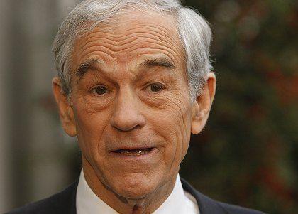 """Prominenter Gegner: Der Republikaner Ron Paul nannte die Fed """"die Quelle unseres Übels"""""""