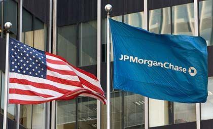 J. P. Morgan-Zentrale: Bislang schien das Geldhaus ohne größere Blessuren durch die Finanzkrise gekommen zu sein
