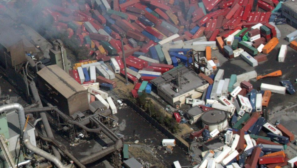 Verwüstung pur: Das Erdbeben hat in Japan einen Milliardenschaden angerichtet
