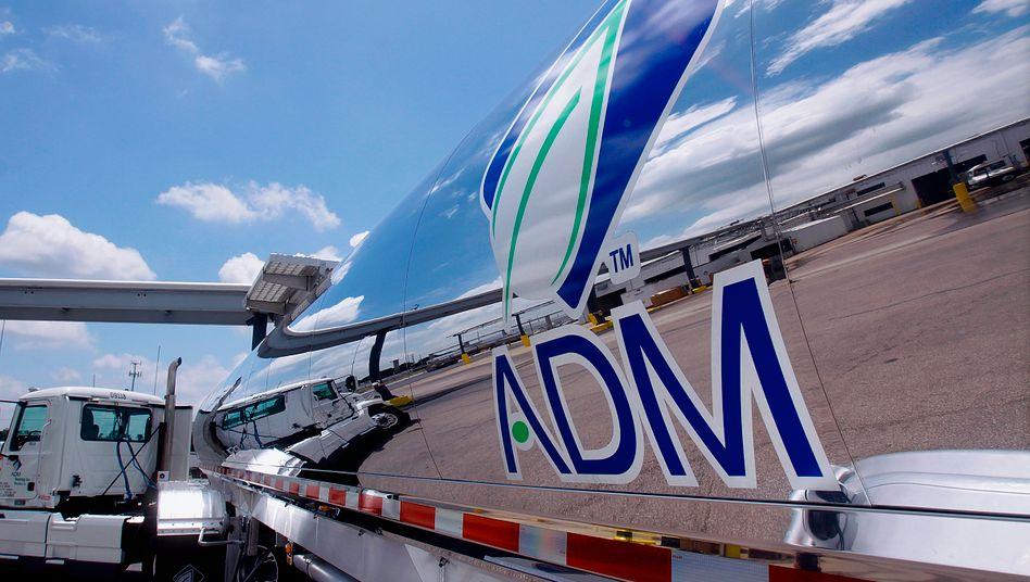 ADM-Tanklaster: Der US-Konzern ist einer der größten Verarbeiter von Getreide und Palmöl