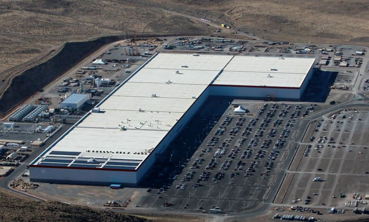 Tesla-Gigafactory in Nevada