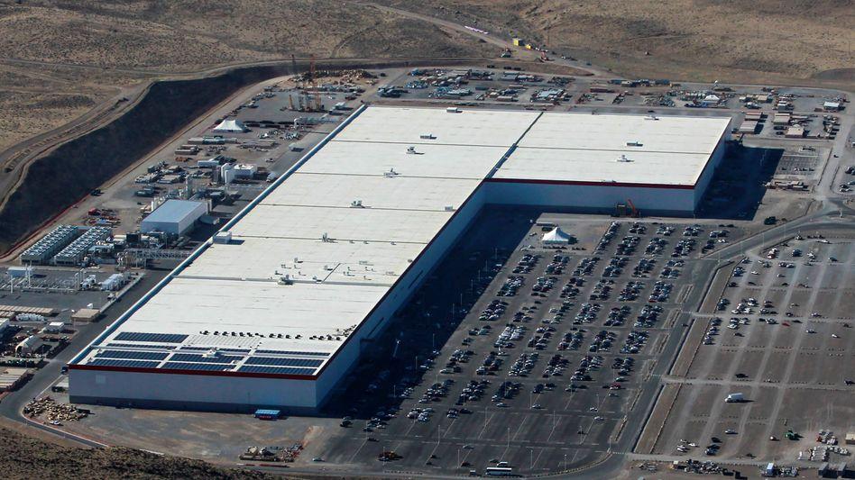 Tesla-Gigafactory in Nevada (USA): Eine weitere, allerdings deutlich kleinere Fabrik soll in Brandenburg entstehen.