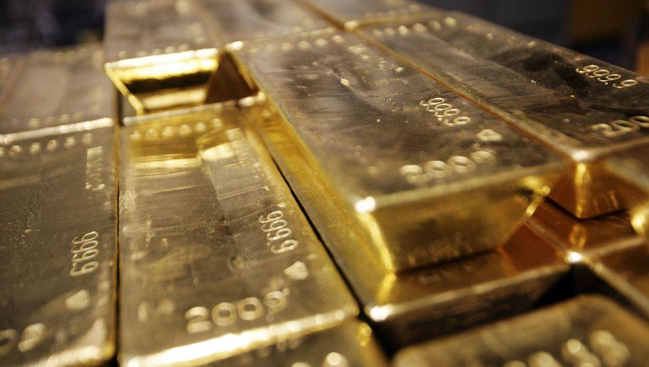 Goldbarren: Vor allem in Krisenzeiten ist das Edelmetall ein begehrtes Investment