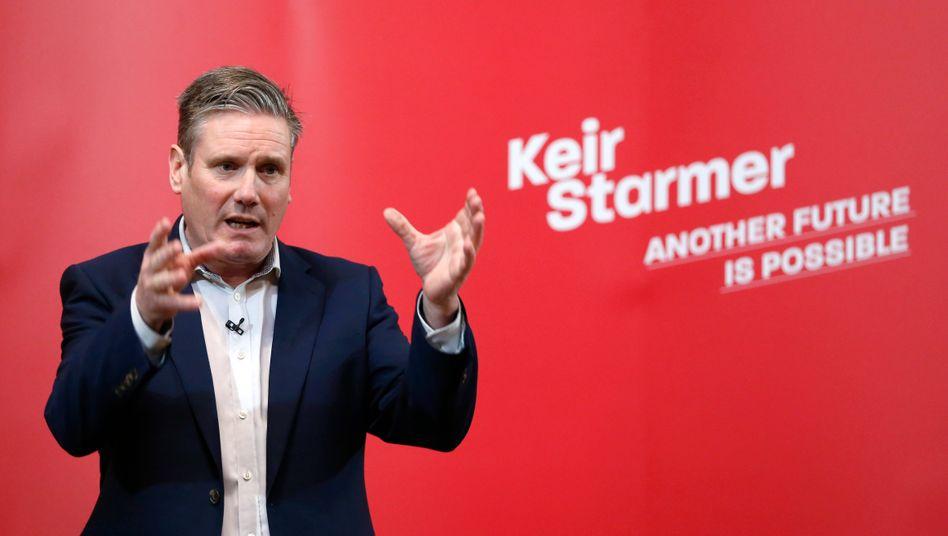 Keir Starmer, neuer Chef der britischen Labour-Partei (Archivaufnahme)